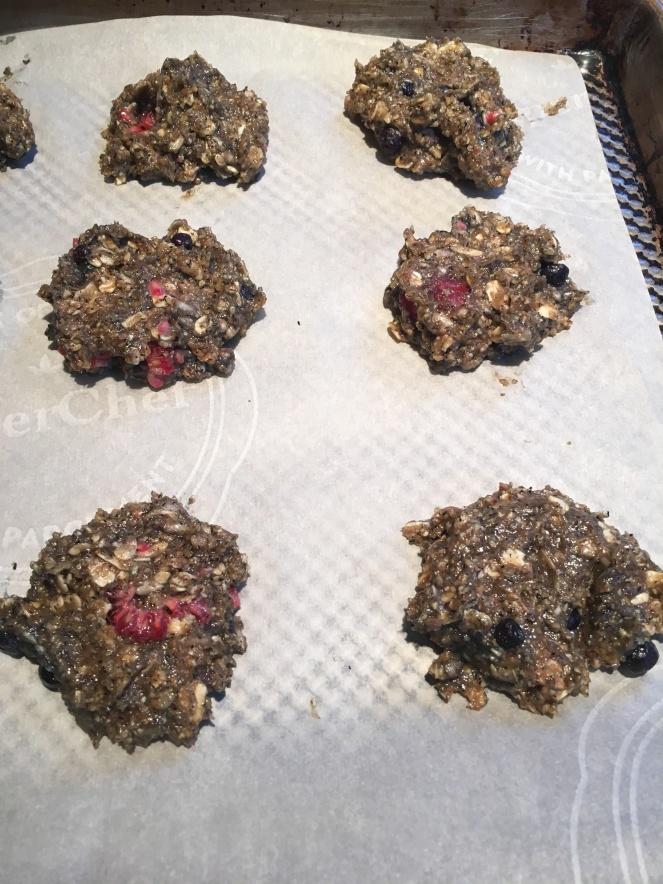 Bfast cookies prebake